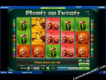 tragamonedas casino Plenty on Twenty Novomatic
